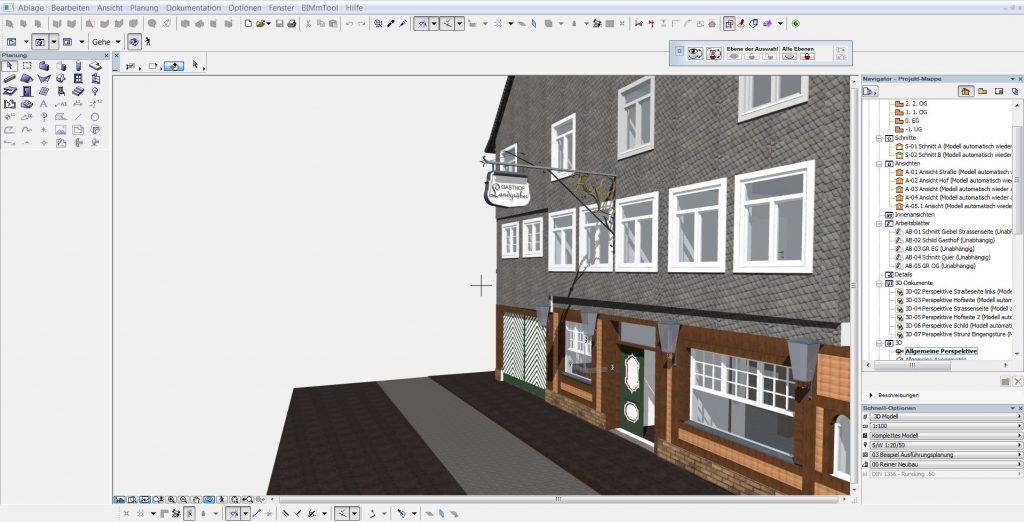 Über Die IFC Schnittstelle Lassen Sich Die ArchiCAD 3D Daten, Zur  Weiterverarbeitung Auf Andere CAD Plattformen übertragen.